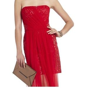 BCBG Vienna red dress